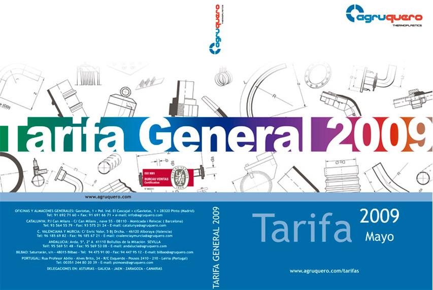 Cubierta Tarifa General (Agruquero)