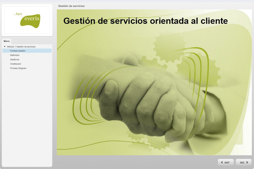 Slide curso Everis