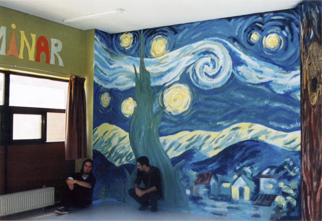 Pintura mural Asociación Caminar