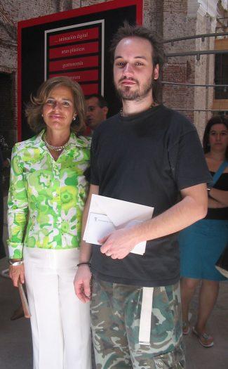 Entrega de premios Certamen Jóvenes Creadores de Madrid.